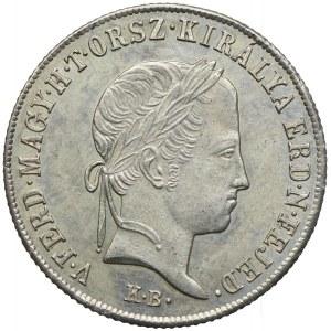 Węgry, Ferdynand I, 20 krajcarów 1848, Kremnica