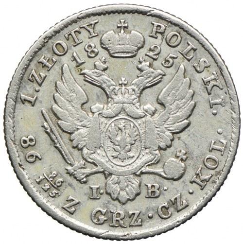 Królestwo Polskie, Aleksander I, 1 złoty 1825 IB