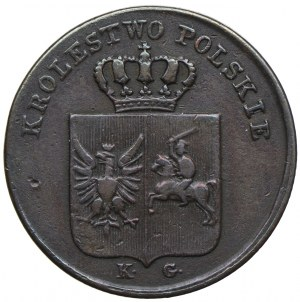 Powstanie Listopadowe, 3 grosze 1831 KG, Warszawa