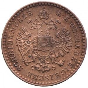 Austria, Franciszek Józef I, 5/10 krajcara 1885