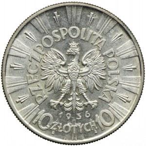 10 złotych 1936, Józef Piłsudski