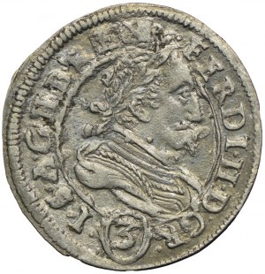 Austria, Ferdynand II, 3 krajcary 1635, Graz
