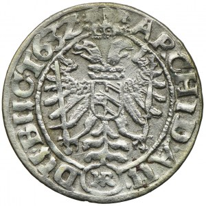 Śląsk pod panowaniem habsburskim, Ferdynad II, 3 krajcary 1632 HR, Wrocław