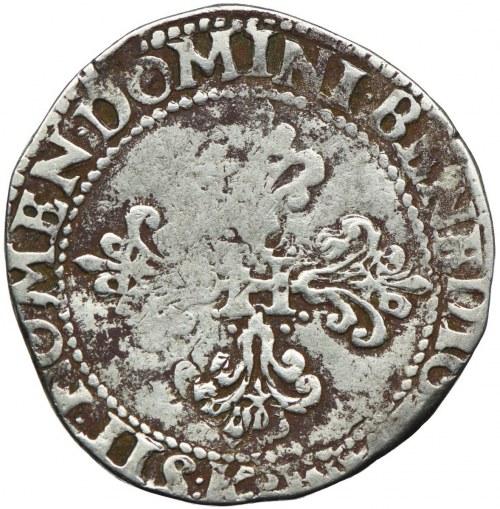 Henryk III Walezy, frank 1585 K, Bordeaux
