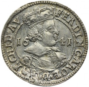 Austria, Ferdynand Karol, 3 krajcary 1641, Hall