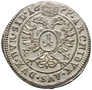 Śląsk pod panowaniem habsburskim, Leopold I, 1 krajcar 1699 FN, Opole