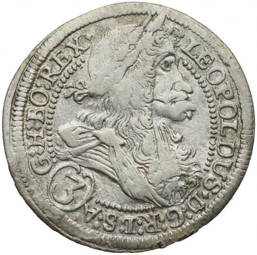Austria, Leopold I, 3 krajcary 1705, Graz