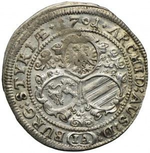 Austria, Leopold I, 3 krajcary 1701, Graz