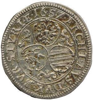 Austria, Ferdynand III, 3 krajcary 1657, Graz