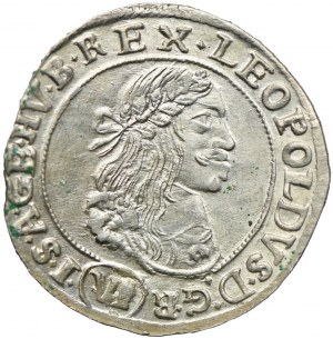 Węgry, Leopold I, 6 krajcarów 1669, Kremnica