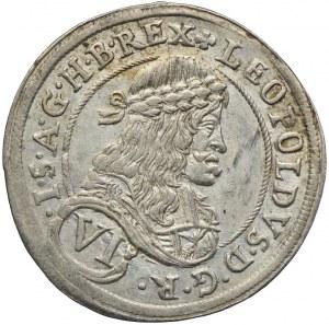 Austria, Leopold I, 6 krajcarów 1680, Graz