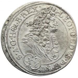 Śląsk pod panowaniem habsburskim, Leopold I, 15 krajcarów 1694, Wrocław