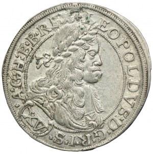 Austria, Leopold I, 15 krajcarów 1664, Wiedeń