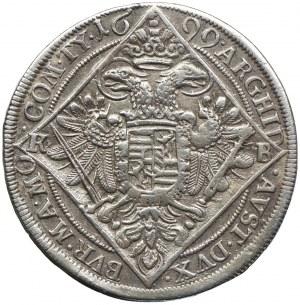 Austria, Leopold I, 1/4 talara 1699, Kremnica