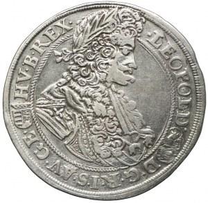 Austria, Leopold I, 1/2 talara 1699, Kremnica