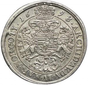 Austria, Leopold I, 1/2 talara 1698, Kremnica