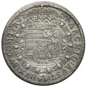 Austria, Józef I, 1 talar 1707, Hall