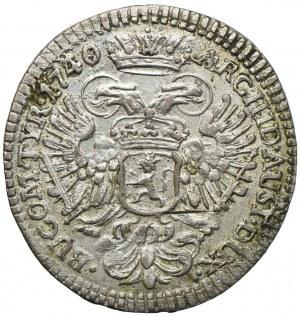 Austria, Karol VI, 3 krajcary 1740, Hall