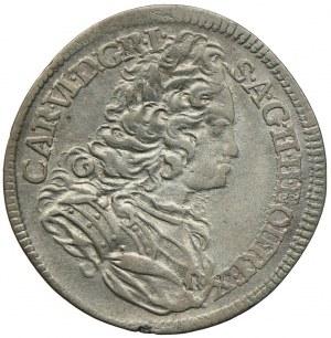 Austria, Karol VI, 6 krajcarów 1732, Praga