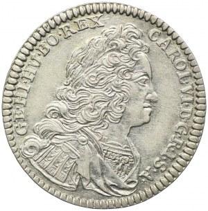 Austria, Karol VI, 6 krajcarów 1732, Hall