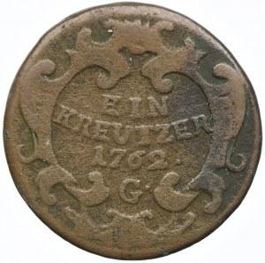 Austria, Maria Teresa, 1 krajcar 1762, Graz
