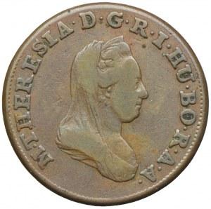Austria, Maria Teresa, 1 krajcar 1780, Smolnik