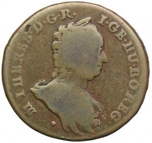 Węgry, Maria Teresa, poltura 1763, Wiedeń