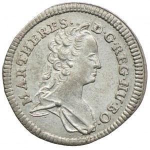Austria, Maria Teresa, 1 krajcar 1744