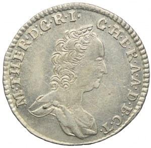 Austria, maria Teresa, 3 krajcary 1759 KB, Kremnica
