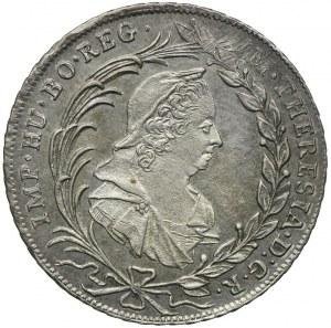 Austria, Maria Teresa, 10 krajcarów 1775 VC-S