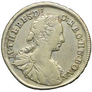 Austria, Maria Teresa, 15 krajcarów 1745 KB, Kremnica