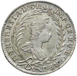 Austria, Maria Teresa, 20 krajcarów 1763, Praga