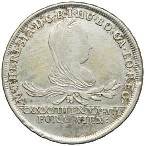 Polska-Zabór austriacki, Maria Teresa, Oświęcim-Zator, 30 krajcarów 1776