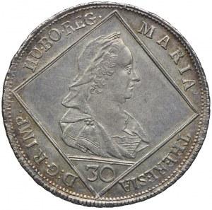 Austria, Maria Teresa, 30 krajcarów 1769, Wiedeń
