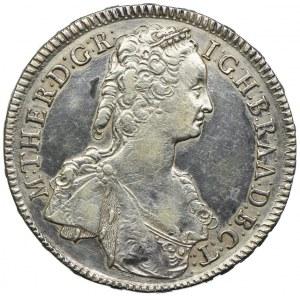 Węgry, Maria Teresa, talar 1747 KB, Kremnica