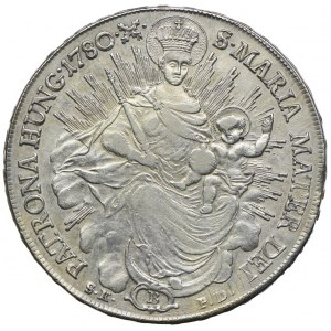 Węgry, Maria Teresa, talar 1780 B, Kremnica