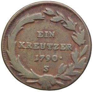 Austria, Józef II, 1 krajcar 1790 S, Smolnik