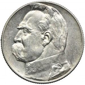 5 złotych 1938, Józef Piłsudski