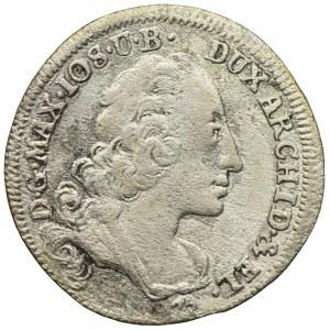 Bawaria, Maksymilian Józef, 3 krajcary 1745