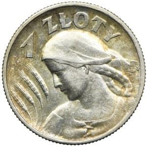 1 złoty 1925, Londyn, Kobieta i kłosy