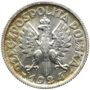 2 złote 1924 Paryż, Kobieta i kłosy