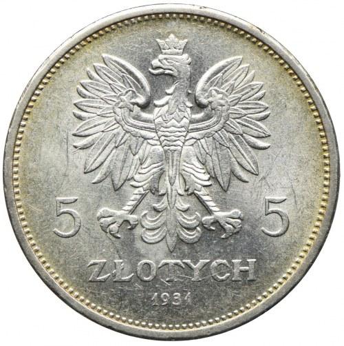 5 złotych 1931 Nike, Warszawa