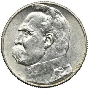5 złotych 1934, Józef Piłsudski, Orzeł Strzelecki