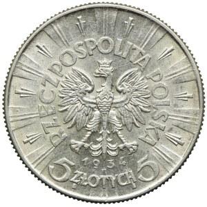 5 złotych 1934, Józef Piłsudski