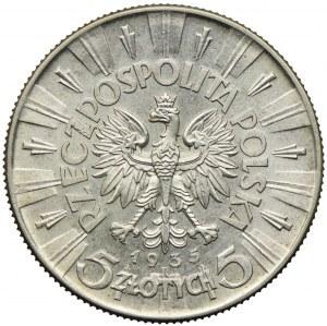 5 złotych 1935, Józef Piłsudski
