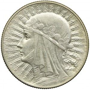 5 złotych 1933, Głowa Kobiety