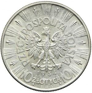 10 złotych 1934, Józef Piłsudski