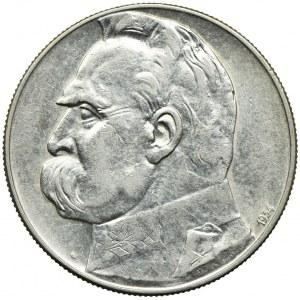 10 złotych 1934, Józef Piłsudski, Orzeł Strzelecki