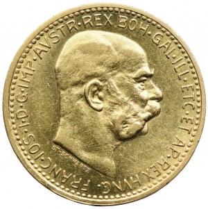 Austria, Franciszek Józef I, 10 koron 1910