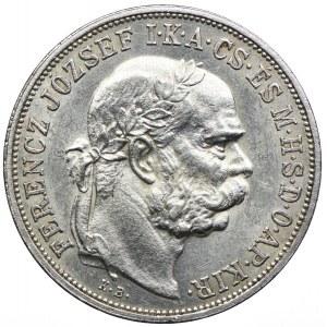 Węgry, Franciszek Józef I, 5 koron 1900, Kremnica
